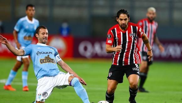 Sporting Cristal vs. Sao Paulo jugaron por la Copa Libertadores (Foto: Agencias)