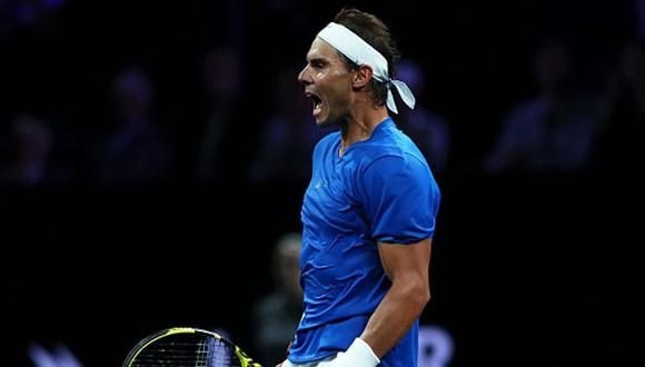 Rafael Nadal se ubica en el puesto 2 del ranking de la ATP. (Getty Images)