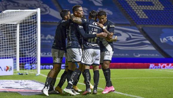 Pueblas vs. Chivas de Guadalajara se enfrentaron por la Liga MX. (Foto: AFP)