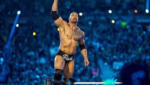 The Rock, la estrella de Hollywood y de WWE que brilla en todos lados. (WWE)