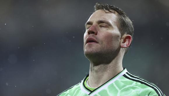 Manuel Neuer tiene un mal recuerdo de André-Pierre Gignac. (Foto: AP)