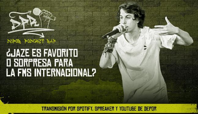 ¿Jaze es favorito o sorpresa para la FMS Internacional?