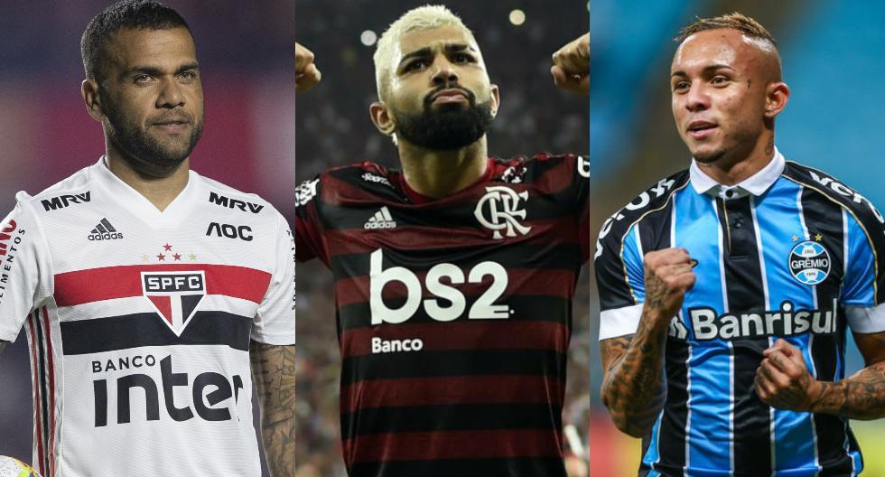Clubes de Brasil contra el racismo. (Foto: Agencias)