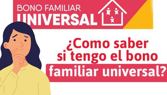 Bono Familiar Universal de S/ 760: beneficiarios y cómo cobrar la Fase 3 del subsidio contra el COVID-19 (Foto: Midis)
