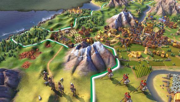 Civilization 6 es todo un clásico en Steam