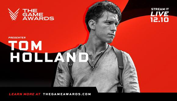 The Game Awards 2020: Tom Holland (Spider-Man) será presentador del evento. (Foto: TGA)