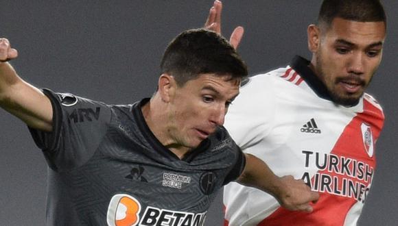 River perdió frente a Atlético Mineiro por Copa Libertadores en Buenos Aires. (Foto: AFP)