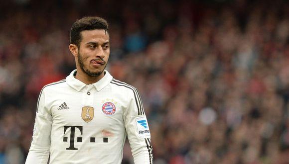 Thiago Alcantara llegó al Bayern Munich en el 2013. (Foto: AFP)