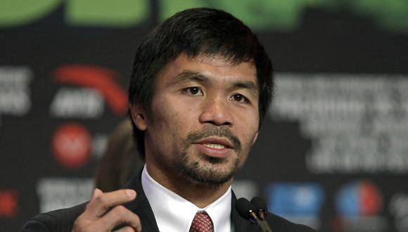 Manny Pacquiao se retiró del boxeo. (Foto: AFP)