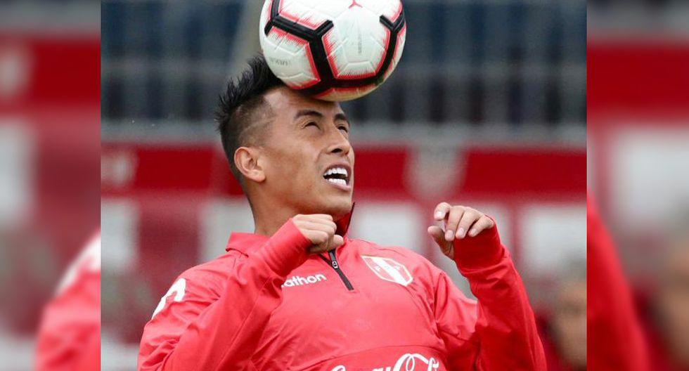 Christian Cueva es el jugador que más partidos ha disputado en la selección peruana con Ricardo Gareca. (Foto: Twitter Selección Peruana)