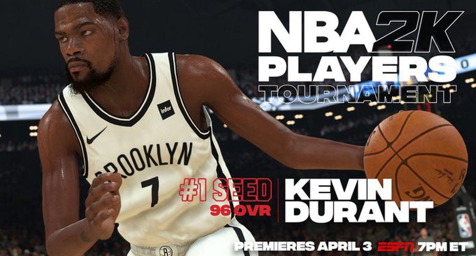 Kevind Durant. (Foto: Twitter @NBA2K)