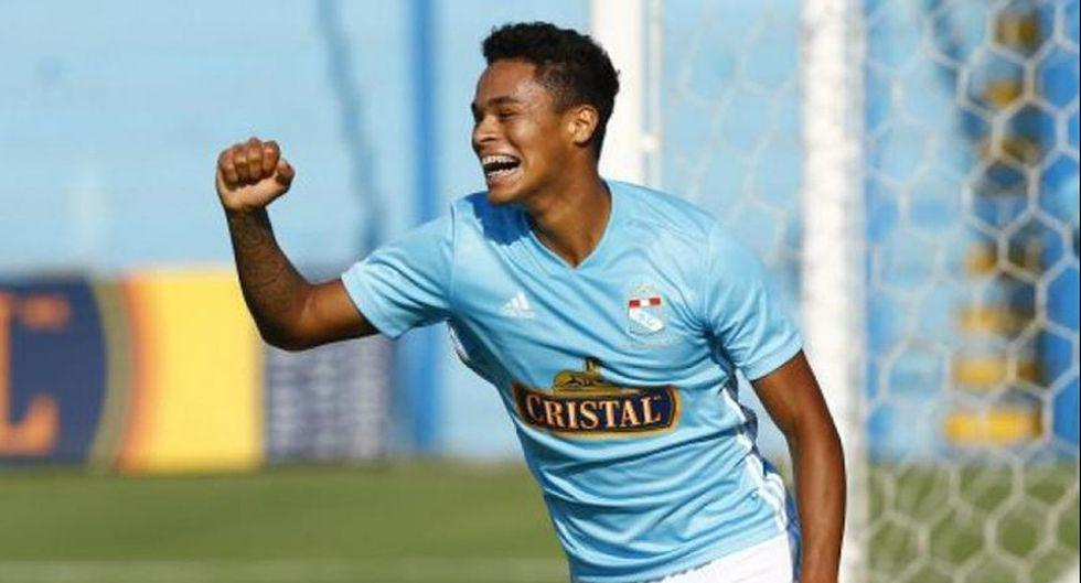 Christopher Olivares - Sporting Cristal.  (Photo: GEC / Agences)