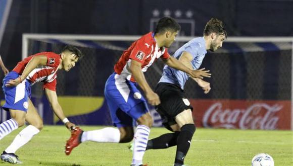 Uruguay vs. Paraguay en el Centenario por las Eliminatorias Qatar 2022. (Foto: Agencias)
