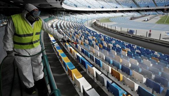 La final de la FA Cup podría contar con público asistente. (Foto: Telam)