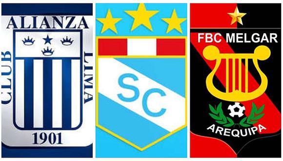 Alianza Lima, Sporting Cristal y Melgar: los últimos partidos de la Fase 2.