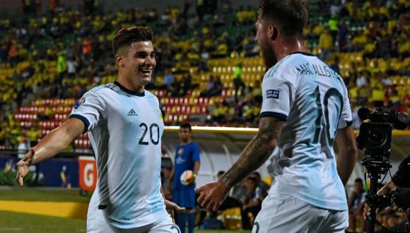 Argentina venció a Uruguay por cuadrangular final del Preolímpico Sub 23. (Foto: AFA)