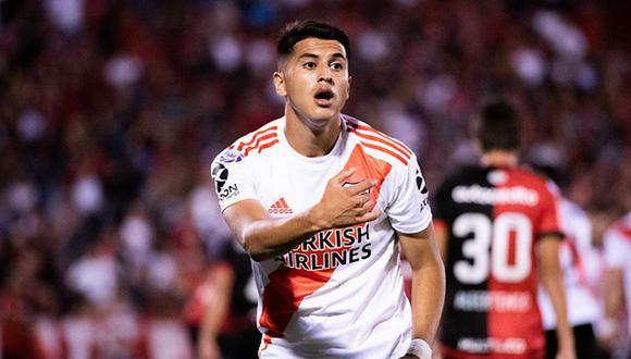 Exequiel Palacios es campeón con River Plate de la Copa Libertadores 2018. (Getty)