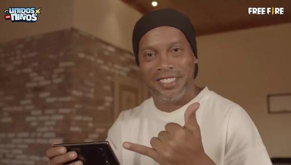 Free Fire: Ronaldinho pide ayuda para torneo del shooter de móviles. (Foto: Twitter)