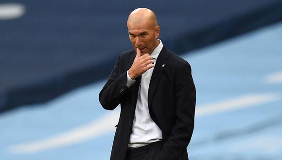 Zinedine Zidane habló sobre la situación de Barcelona. (Foto: AFP)