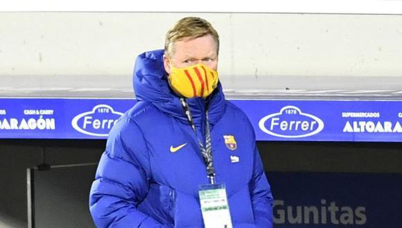 Ronald Koeman llegó al Barcelona en reemplazo de Quique Setién. (Foto: Getty)