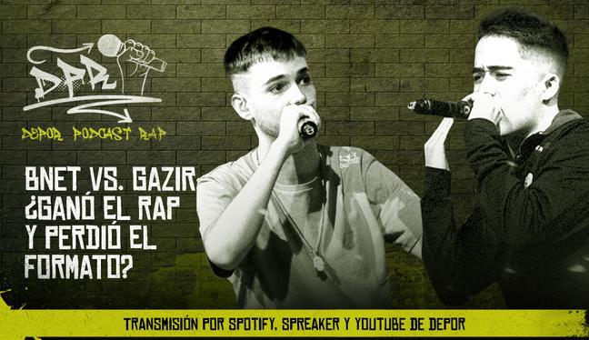 Bnet vs. Gazir: ¿ganó el rap y perdió el formato?