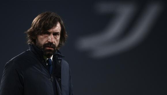 Pirlo mostró su descontento tras derrota de Juventus. (Foto: AFP)