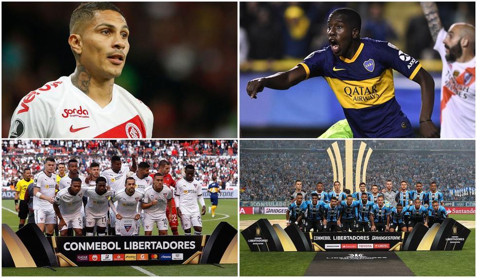 Los 25 clubes que disputarán la Supercopa Conmebol Sudamericana.