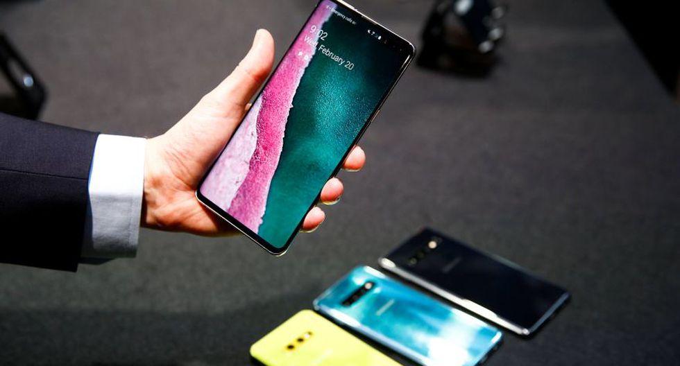 Samsung Galaxy S10 | El nuevo móvil fue presentado en San Francisco (Reuters)