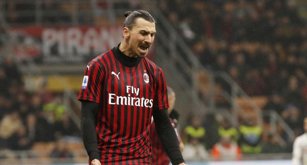 Zlatan Ibrahimovic cumple su segunda etapa en el AC Milan. (AP)