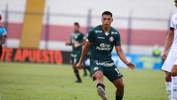Gerson Barreto registra 368 minutos con la 'U' en la Liga 1 (Foto: Universitario de Deportes).
