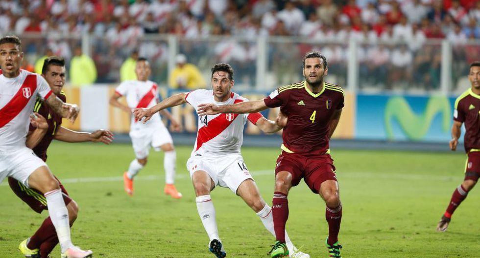 Perú caía 0-2 en Lima y logró empatar 2-2 ante Venezuela (Foto: GEC / Agencias)