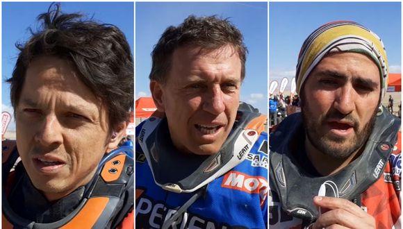 César Pardo, Carlo Vellutino y Sebastian Cavallero son algunos de los 8 peruanos que compiten en el Dakar 2020. (Foto: Christian Cruz, enviado especial de El Comercio)