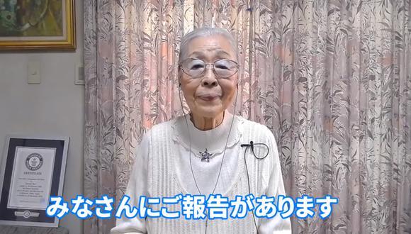 Abuela gana premio Guinness por ser la gamer más longeva de YouTube. (Foto: captura)