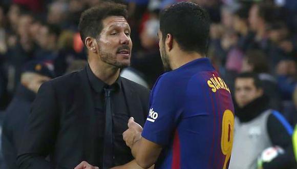 Suárez se acerca al Atlético de Madrid. (Foto: Agencias)