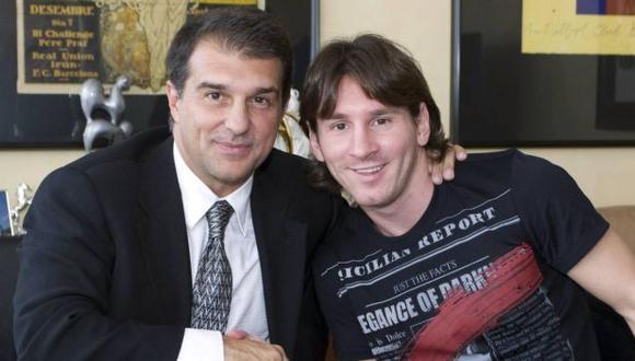 Joan Laporta fue presidente del FC Barcelona entre el 2003 y 2010. (Foto: AFP)