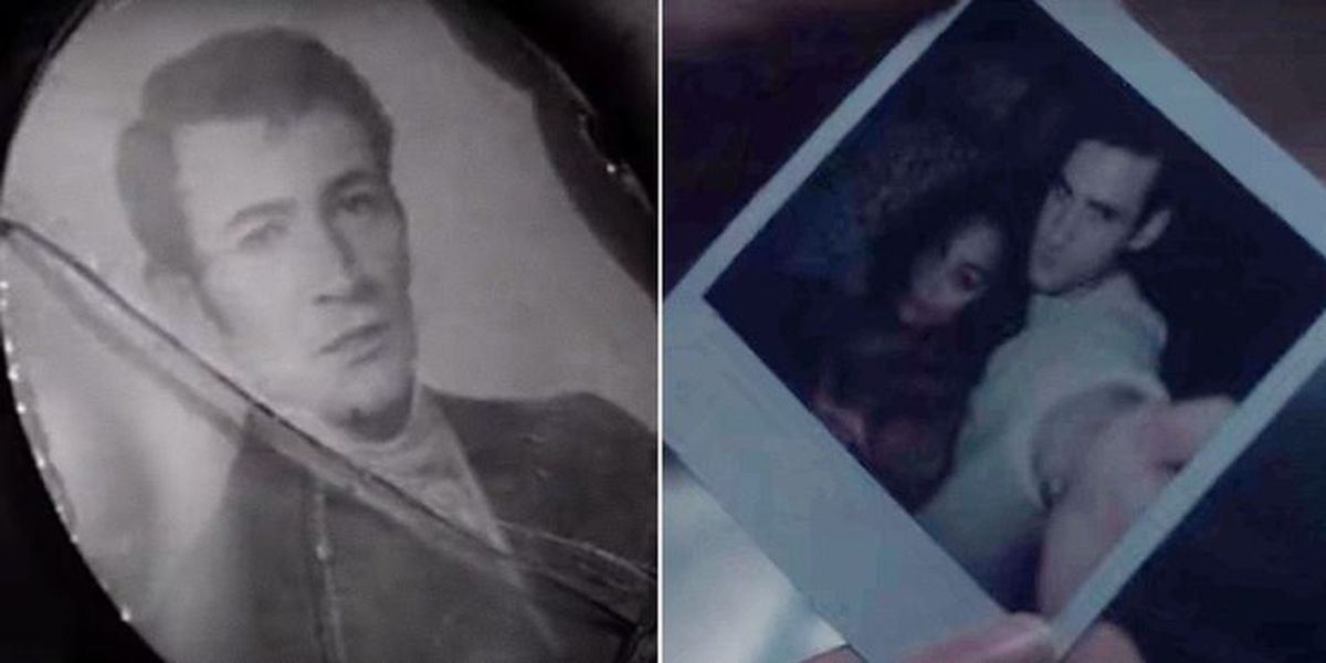 Otro elemento de The Innocents que se usó para The Haunting of Bly Manor es la foto que Dani encuentra de Peter y Rebecca (Foto: Netflix)