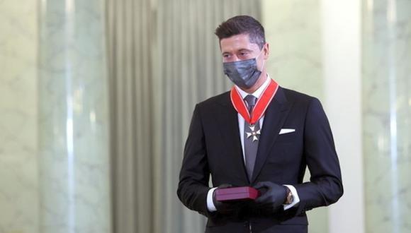Lewandowski sigue recibiendo reconocimientos. (Foto: EFE)