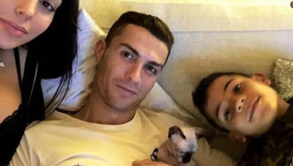 El gato de Cristiano Ronaldo, de raza esfinge, está valorizado en 3 mil dólares. (Internet)