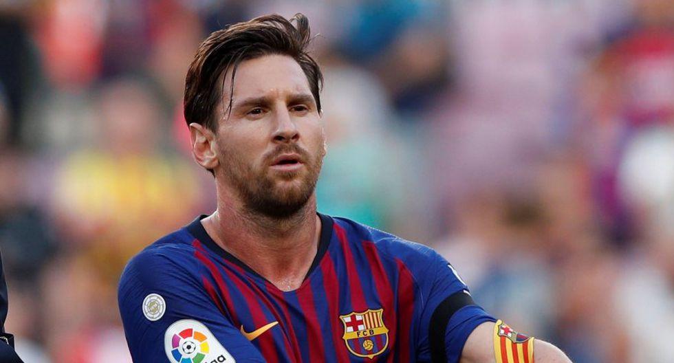 Lionel Messi inició como suplente en el duelo contra Athletic Club (Foto: Reuters).