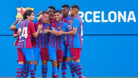 Barcelona goleó al Nastic en amistoso de pretemporada. (Foto: FCB)