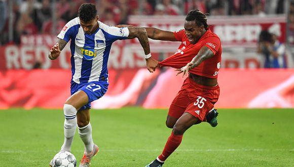 Bayern Munich empató 2-2 ante Hertha Berlin en el inicio de la Bundesliga