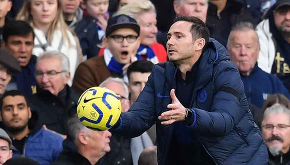 Frank Lampard se irá de Chelsea (Foto: AFP)