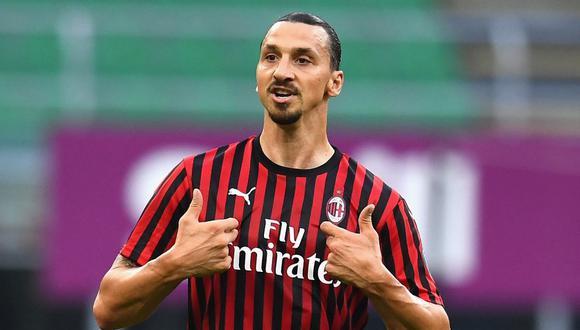 Ibrahimovic es jugador del AC Milan desde la temporada 2019. (Foto: AFP)