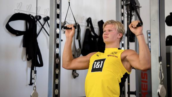 Erling Haaland tiene contrato con el Dortmund hasta 2024. (Foto: Instagram)