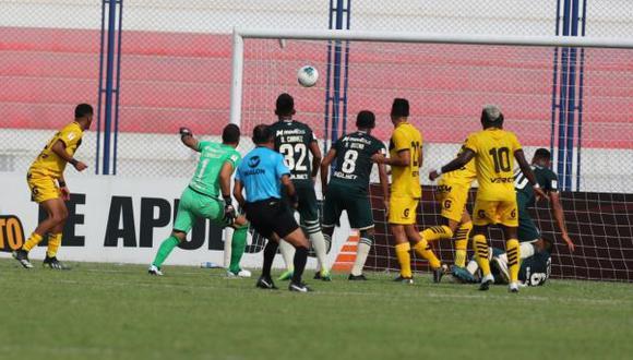 Cantolao y Universitario en Villa El Salvador se enfrentaron por la Fase 1 de la Liga 1. (Foto: Liga 1)