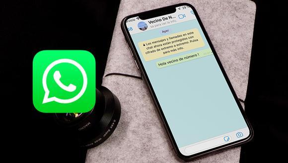 """¿Sabes por qué no debes jugar a """"Soy tu vecino de número"""" en WhatsApp? Estas son las razones que debes tener en cuenta. (Foto: WhatsApp)"""