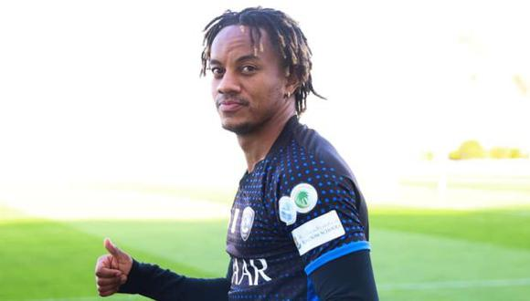 André Carrillo se quedará en Al Hilal, confirmó el presidente del club. (Foto: Al Hilal)