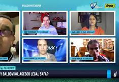 'Full Deporte por Depor': la palabra de Jhonny Baldovino sobre reclamo de Alianza Lima