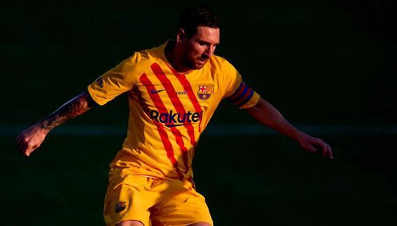 Lionel Messi tiene contrato hasta junio del otro año con el FC Barcelona (Foto: AFP)