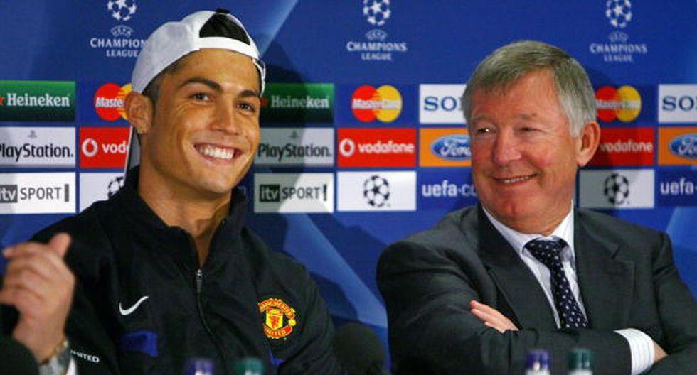 Cristiano Ronaldo tuvo en Ferguson a un mentor en Manchester United. (Foto: Getty Images)